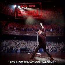 BON JOVI - THIS HOUSE IS NOT FOR SALE (LIVE LONDON PALLADIUM)   CD NEW+