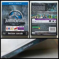 Jurassic World - Jurassic Park IV Blu-ray Steelbook Limited Edition FR