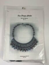 Linda Richmond Beaded Necklace Kit Fan Fringe Choker Pattern & Beads