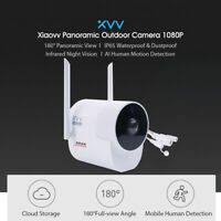 Global Xiaovv Panoramic Camera 1080P HD Home IP Security Cam Wireless WIFI