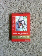 "Canon PIXMA Photo Paper Plus Glossy II PP-201 4""x6"" 100 Sheets"