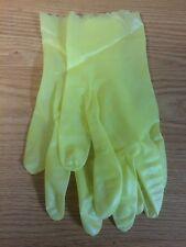 Lot of (6) Glove Vinyl Chemical Resistant Size Medium