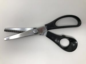 Pinking Shears Stainless Steel Crafting Cutting Scissors with Zig Zag Pattern