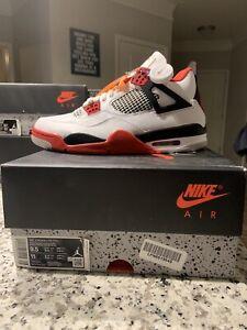 Jordan Fire Red 4 2020 Retro IV DS Size 9.5