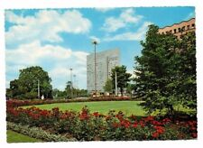 Germany - Dusseldorf, Konigsallee, Hochhaus der Phoenix... -  Vintage Postcard