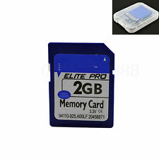 2GB 2G SD Card Secure Digital Memory Card For Canon Camera HP Dell PC Computer