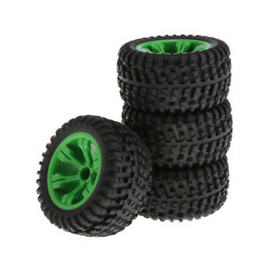 4x Wltoys 12428-A 12428-CRC 1/12 Cars Upgrade Large Size Tire 110mm Dia