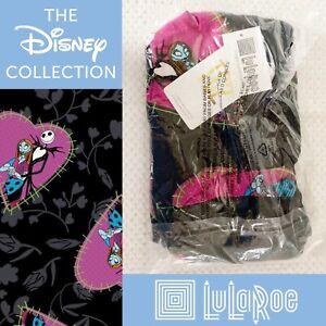 NEW LuLaRoe Tall & Curvy Leggings Disney Nightmare Before Christmas Jack Sally