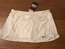 Ladies Nike Pure Tennis Skort White Sz Large BNWT