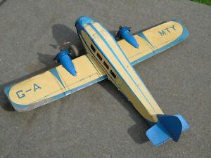 Large Mettoy Tinplate Aeroplane