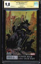 POWER MAN & IRON FIST #1 CGCC 9.8 GREENE VARIANT COVER DUAL SIGS. #1403761030