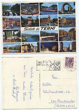 20637 - Saluti da Terni - Ansichtskarte, gelaufen 2.9.1968