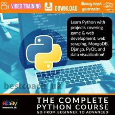 The Complete Python Course Go From Beginner To Advanced - Video Training