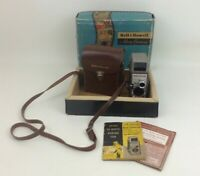 8MM Film Movie Camera 252 Bell Howell with Case Instructions Guide Box Vintage
