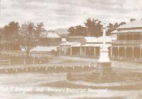 APF091) PC Australia reproduction c1905, High Street Mansfield & Troopers Memori