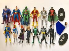 DC Direct Justice League of America 13pc Comic Book Action Figure Lot