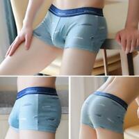 Men Male Panties Boxers Cotton Men Underwear Sexy Underpants Shorts New U4K8
