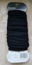 Damen - Stulpen - Ladies Legwarmer - Farbe: Schwarz - Länge: 30 cm Baumwolle...