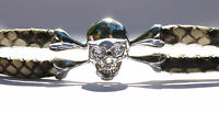 Henry Designs StingHD PythonHD Prototype 1 of 1 Python Skull Diamond Bracelet