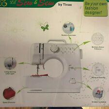 Lil' Sew & Sew By Tivax Desktop Sewing Machine