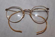 Antique RSO 1/10 12k Gold Filled Oval Wire Rimmed Eye Glasses