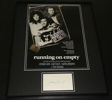 Judd Hirsch Signed Framed 16x20 Photo Poster Display Running on Empty