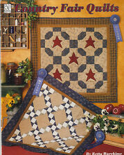 COUNTRY FAIR QUILTS QUILTING BOOK RETTA WAREHIME CHICKS & HENS, STARS & BLOCKS