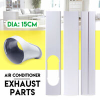 2/3pc Window Slide Kit Plate + Window Adaptor PVC For Portable Air Conditioner