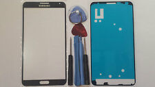 Samsung Galaxy Note 3 Dark Blue Genuine Glass Front Screen Lens Tools+Adhesive