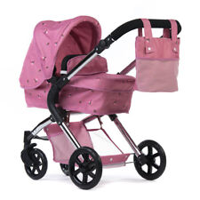 Roma Darcie Single Dolls Pram Pink - 3-12 years Ideal Xmas Present For All Ages