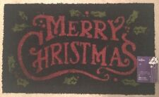 "Mohawk Home: Christmas Coir Doormat/Rug; ""Merry Christmas"" Print, 18"" x 30"""