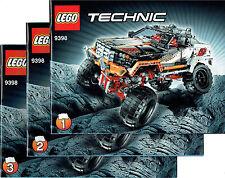 LEGO® Technic BAUANLEITUNG für 9398 4x4 Offroader Crawler NEU ONLY INSTRUCTION