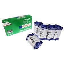 Pellicola medio formato Rullino Diapositive Fujifilm Velvia 50 120 5pz.