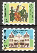 Suriname - 1986 Court Charity centenary - Mi. 1183-84 MNH