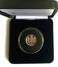 2002 ELIZABETH  II SHIELD HALF  SOVEREIGN BOXED COA
