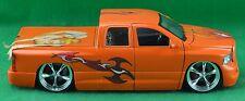 Jada Toys Dub City 2003 Dodge Ram 1500 Extended Cab Truck 50760-9 Orange 1:24