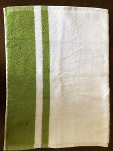 New Pottery Barn Tinsley Hand Towel Green Apple