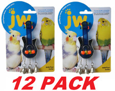 JW Bird Activitoy Birdie Guitar Toy Great For Parakeets, Cockatiels (12 PACK)