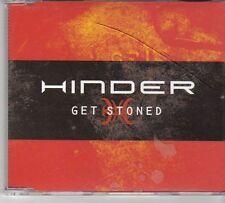 (EX208) Hinder, Get Stoned - 2007 DJ CD