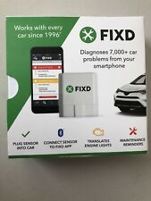 FIXD ODB-II Active Car Monitor Engine Code Reader/Scanner For iPhone & Android