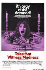 Tales That Witness Madness Poster 01 Metal Sign A4 12x8 Aluminium