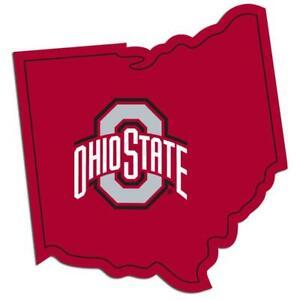 Ohio State Buckeyes Vinyl Home State Pride Decal [NEW] Auto Car Truck Window