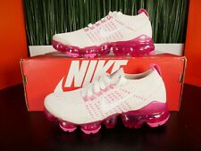 Nike Air Vapormax Flyknit 3 Womens Running Shoes Pink White AJ6910 005 Size 5