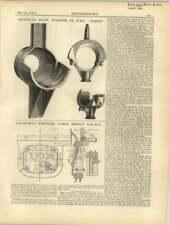1877 1876 attività vulcanica, auto sistema TELEGRAFICO Cinetico Fire
