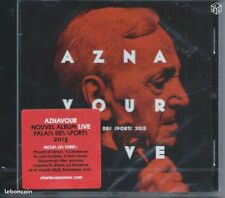 CD Charles  Aznavour Live Palais des Sports 2015 NEUF sous cellophane