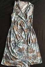 Chiffon Casual Sleeveless Wrap Dresses