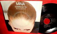 MINA Comincia tu / La nave TV OST 7' + PS 1984 ITALY MINT-