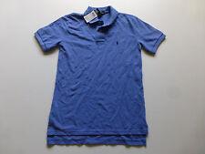 Polo Ralph Lauren Boys XL (18/20) Blue Mesh Polo Shirt New