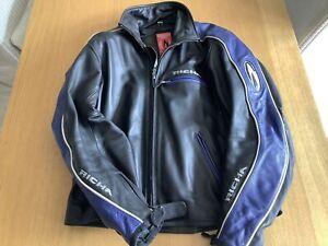 Richa Leather Motorcycle Jacket Size 46