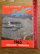 1965 Los Angeles Dodgers Yearbook World Series Champions